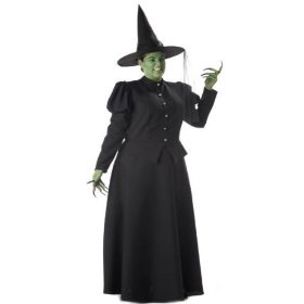 Adult plus size premier wicked witch costume - womens xxxl