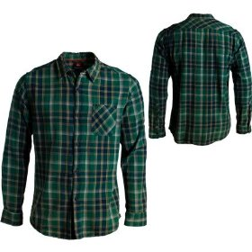 Quiksilver ditch flannel shirt - long-sleeve - men's