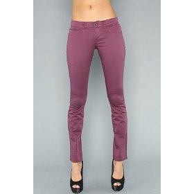 Rvca the dem ii pant in saucy,pants for women