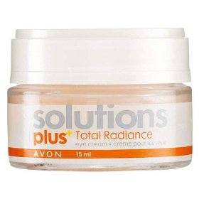 Avon total radiance eye gel 15ml (pack of 2)