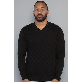 Lrg the shaken not stirred sweater in black,sweaters for men