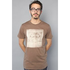 Lifetime collective the seer tee in walnut,t-shirts for men