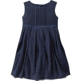 Gap eyelet lace party dress