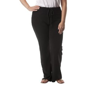 Women's plus-size merona® ebony straight-leg lounge pants