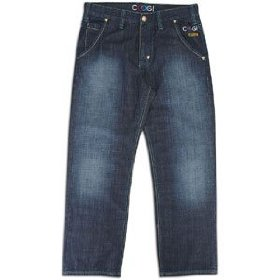 Coogi colored back pocket denim jean - men's