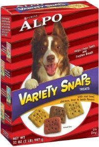 Brand New, NESTLE PURINA PET CARE PRO - ALPO VARIETY SNAPS (10/32 OZ) (PURINA - NP NON PET SPECIALTY