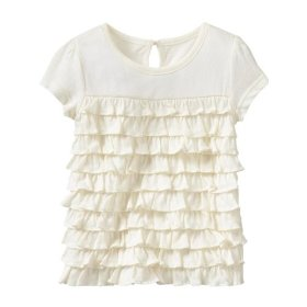 Gap tiered ruffle top
