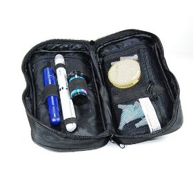 Bkooler diabetic pen and vial travel wallet keep medication between 36 -46 degrees for up to 4-5 hou