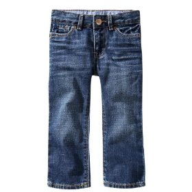 Gap playdate straight jeans (faded medium wash)