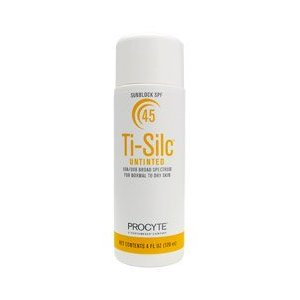 Ti-silc untinted sunblock spf 45 (4 oz)