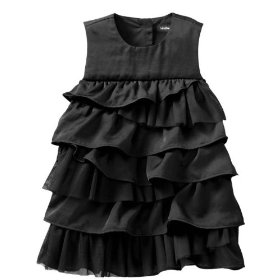 Gap asymmetrical tiered dress
