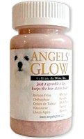 Angels' Glow Tear Stain Remover Eliminator Supplement For Dogs, 120 gm