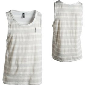 Rvca traffic stripe tank top - men's