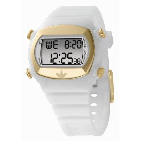 Adidas candy gold case digital watch