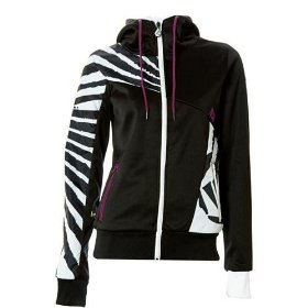 Volcom still full-zip hooded sweatshirt - women's
