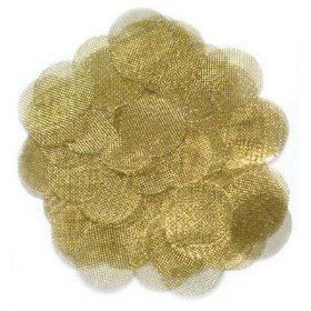 100 pc brass tobacco vaporizer & pipe screen screens