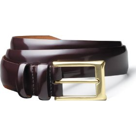 Allen-edmonds men's polished cobbler belts