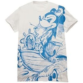 Disney ''steamboat'' mickey mouse bloc28 tee