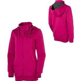 Dc crystal full-zip hooded sweatshirt - women's