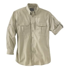 Woolrich men's long sleeved operator shirt