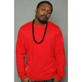 Lrg core collection the cc sweater in red,sweaters for men