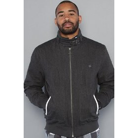 Lrg the triumph jacket in charcoal heather,jackets for men