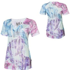 Volcom flower buzz shirt - short-sleeve - women's