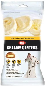 Brand New, Mark & Chappell Creamy Centers w/Yogurt and Real Banana Dog Treat 3.1oz (Dogs - Treats)
