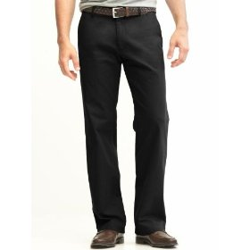 Banana republic new straight gavin chino