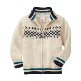Old navy mock-neck cardigans for baby