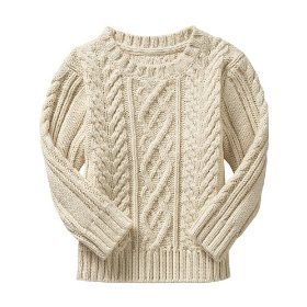 Gap fisherman sweater