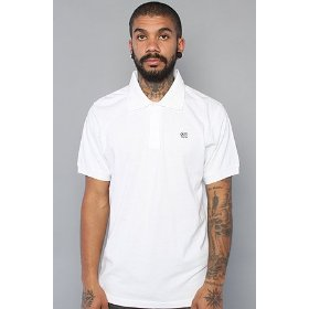 Lrg core collection the grass roots polo in white,polos for men
