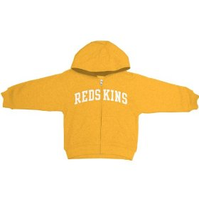 Reebok washington redskins boys (4-7) full zip hooded sweatshirt